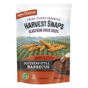 Harvest Snaps Black Bean Southern Style Barbecue Crisps