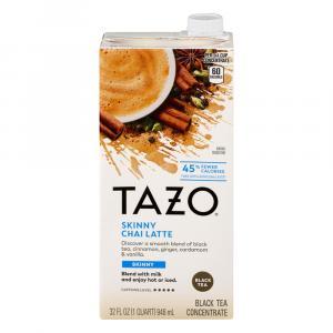 Tazo Chai Skinny Latte