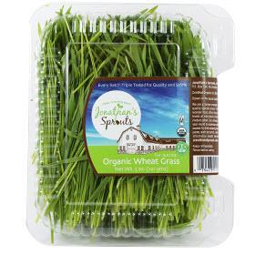 Jonathan's Sprouts Organic Wheat Grass