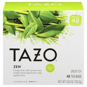 Tazo Green Tea Bags