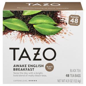 Tazo Awake English Breakfast Tea Bags