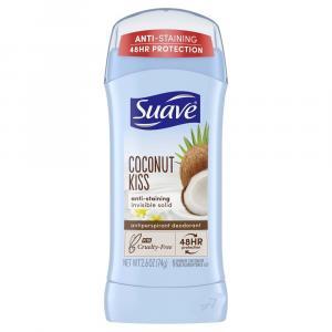 Suave Coconut Kiss Invisible Solid Antiperspirant Deodorant