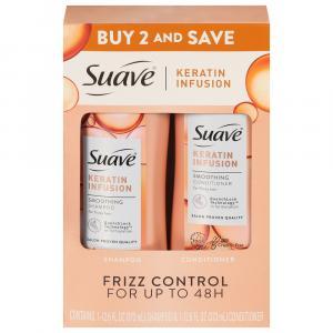 Suave Keratin Infusion Shampoo & Conditioner