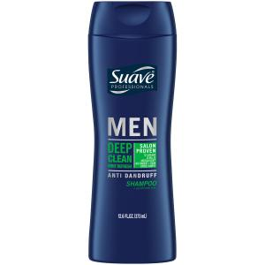Suave Men Shampoo Deep Clean Anti Dandruff