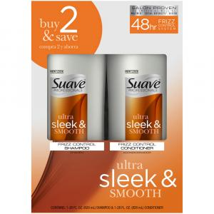 Suave Sleek Shampoo & Conditioner