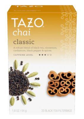 Tazo Classic Chai Tea Bags