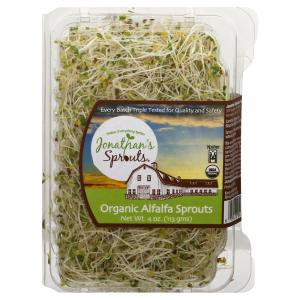 Jonathan's Sprouts Organic Alfalfa Sprouts