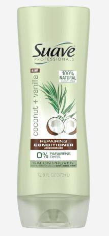 Suave Professionals Coconut + Vanilla Repairing Conditioner