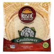 Rustic Crust Cauliflower Pizza Crust
