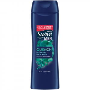 Suave Men Clean & Fresh Exhilarating Body Wash