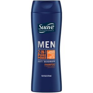 Suave Men 2in1 Shampoo & Conditioner Pure Power