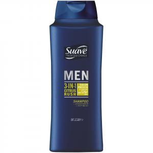 Suave Men 3-in-1 Shampoo & Conditioner & Bodywash