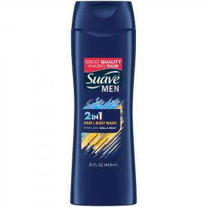 Suave Men Dual Charged Hair & Body Wash