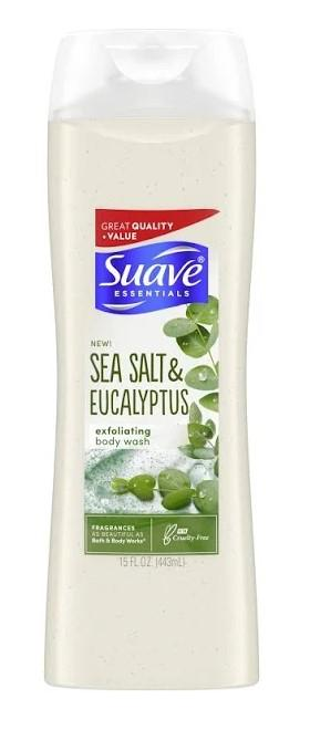 Suave Sea Salt & Eucalyptus Body Wash