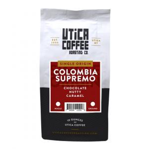 Utica Coffee Columbia Ground Coffee