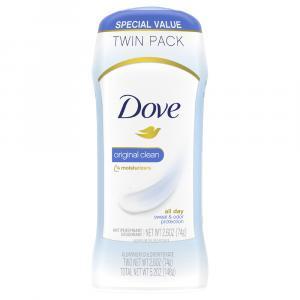 Dove Original Clean Invisible Solid Deodorant