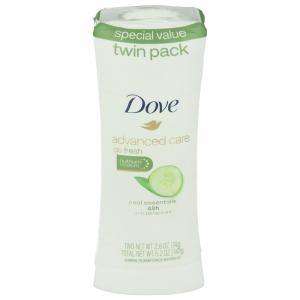 Dove Advanced Care Cool Essentials Antiperspirant Twin Pack