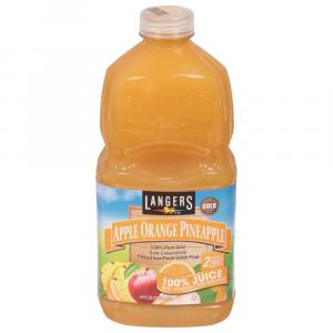 Langers Apple Orange Pineapple 100% Juice from Concentrate