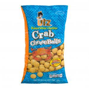 Utz Baked White Cheddar Crab Cheese Balls