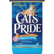 Cat's Pride Clay Odor Control Non Clumping Litter