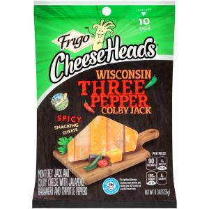Frigo Cheeseheads Wisconsin Three Pepper Colby Jack