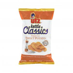 Utz Kettle Classics Sweet Potato Ripple Cut