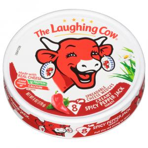 Laughing Cow Creamy Spicy Pepper Jack Cheese Wedges