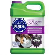 Cat's Pride Total Ordor Control Scented Clumping Green Jug