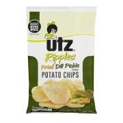Utz Ripples Fried Dill Pickle Chips