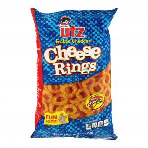 Utz Baked Cheddar Cheese Rings