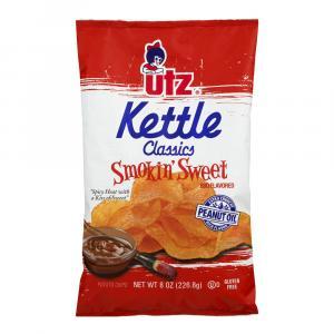 Utz Smokin Sweet Kettle Chips