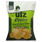Utz Ripples Sour Cream & Onion Potato Chips