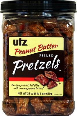 Utz Peanut Butter Filled Pretzels