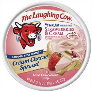 The Laughing Cow Strawberries & Cream Cream Cheese Spread