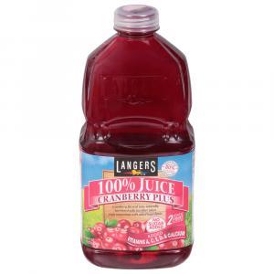 Langers Cranberry Plus 100% Juice Blend