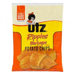 Utz Ripples Barbeque Potato Chips