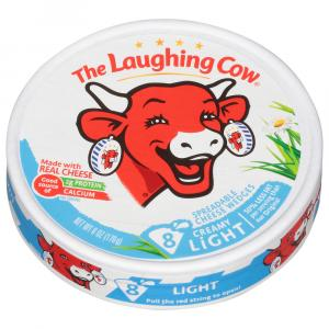 Laughing Cow Lite Creamy Swiss Cheese Wedges