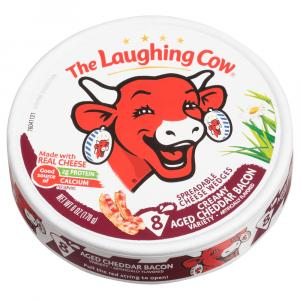 Laughing Cow Creamy Aged Cheddar & Bacon