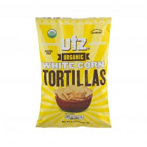 Utz Organic White Corn Tortilla Chips