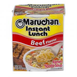 Maruchan Instant Beef Flavor Noodle Soup Cup