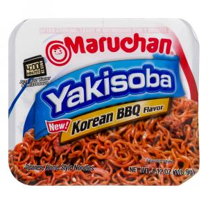 Maruchan Yakisoba Korean Bbq Flavor Japanese Noodles