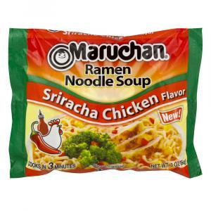 Maruchan Sriracha Chicken Flavor Ramen Noodle Soup