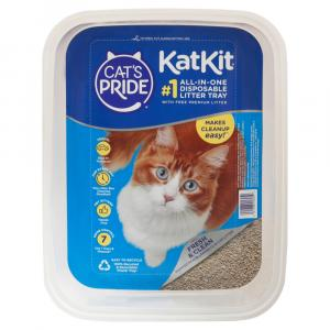 Cat's Pride Kat Kit Disposable Tray With Litter