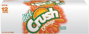Crush Diet Orange Soda
