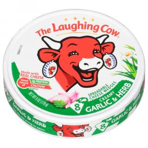 Laughing Cow Garlic & Herb Cheese