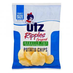 Utz Ripples Original Reduced Fat Potato Chips
