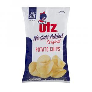 Utz No Salt Potato Chips