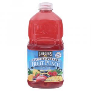 Langers Blue Raspberry Fruit Punch