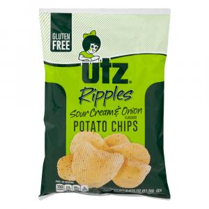 Utz Sour Cream And Onion Potato Chips
