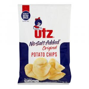 Utz No Salt Potato Chips
